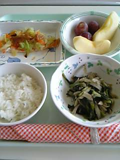 お昼ごはんで退院^^